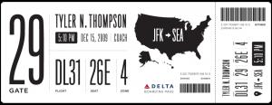 Boarding Card - Verbesserung 2