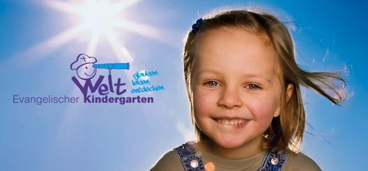 Weltkindergärten - das Titelmotiv